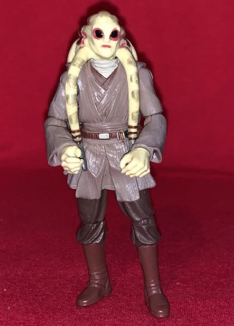 Star Wars Revenge Of The Sith Kit Fisto Loose Action Figure 1